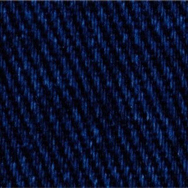 【雑誌掲載】【数量5から】 生地 『20ツイル ムラ染め風ヴィンテージ加工/ブルー×ベージュ/3406-8 』