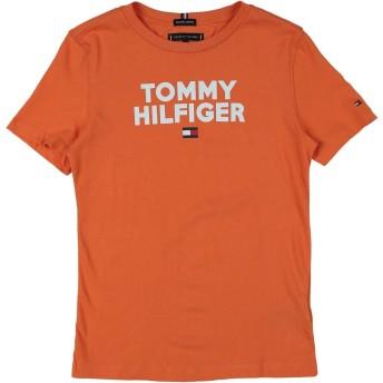 《期間限定 セール開催中》TOMMY HILFIGER ボーイズ 3-8 歳 T シャツ オレンジ 6 コットン 100%
