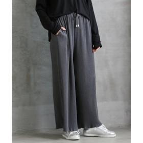 ローズファンファン プリーツカットソーパンツ (大きいサイズレディース)パンツ, plus size, Pants, 子, 子