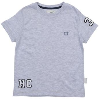 《セール開催中》HENRY COTTON'S ボーイズ 3-8 歳 T シャツ ライトグレー 3 コットン 50% / ポリエステル 50%