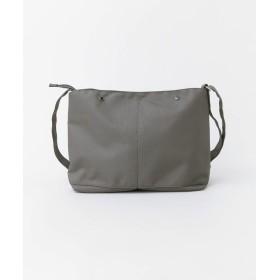 [サニーレーベル] 鞄 ショルダーバッグ anello CSミニポーチ付10ポケットショルダー メンズ GY FREE