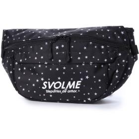 スボルメ SVOLME サッカー/フットサル バッグ 星柄ボディバッグ 183-92420 (ブラック)
