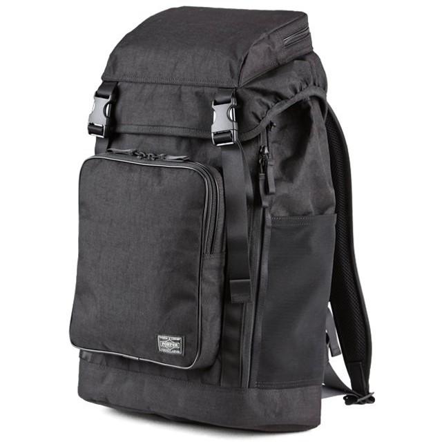 カバンのセレクション 吉田カバン ポーター ハイブリッド リュック バックパック メンズ ブランド 18L PORTER 737 17819 ユニセックス ブラック フリー 【Bag & Luggage SELECTION】