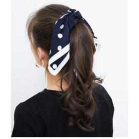 【ROPE' PICNIC:ファッション雑貨】【新色追加】ドットプリントスカーフ