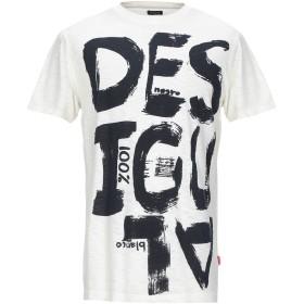 《期間限定セール開催中!》DESIGUAL メンズ T シャツ ベージュ S コットン 100%