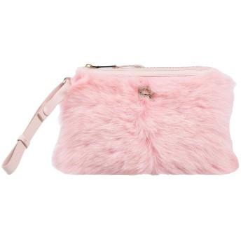 《9/20まで! 限定セール開催中》ROCHAS レディース ハンドバッグ ピンク 羊革(ラムスキン) 100% / 牛革(カーフ)