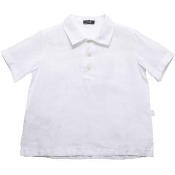 《セール開催中》IL GUFO ボーイズ 0-24 ヶ月 シャツ ホワイト 9 麻 100%