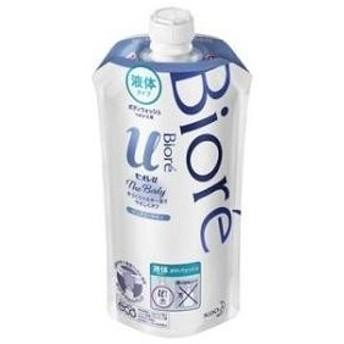 ビオレu ザ ボディ 液体タイプ ピュアリーサボンの香り つめかえ用 340ml 花王 返品種別A