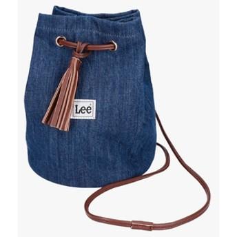 Lee デニム巾着バッグ レディース 中濃色