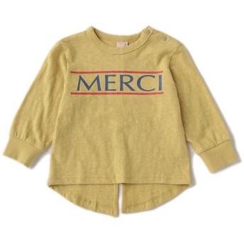 [マルイ]【セール】MERCIロゴTシャツ/プティマイン(petit main)