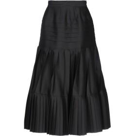 《期間限定セール開催中!》ROCHAS レディース 7分丈スカート ブラック 40 ウール 83% / シルク 17%