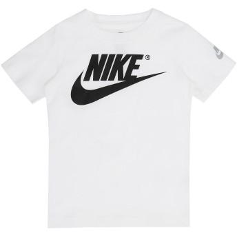 《セール開催中》NIKE ボーイズ 3-8 歳 T シャツ ホワイト 5 コットン 100% THE FUTURA IS MINE S/S TEE