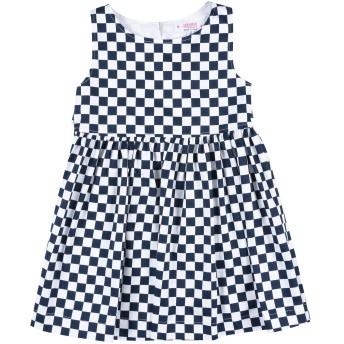 《セール開催中》ALETTA ガールズ 3-8 歳 ワンピース&ドレス ダークブルー 3 コットン 50% / ポリエステル 50%