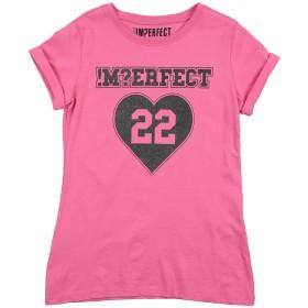 《セール開催中》!MERFECT ガールズ 9-16 歳 T シャツ ピンク 9 コットン 100%