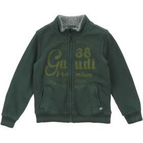 《期間限定 セール開催中》GAUD ボーイズ 3-8 歳 スウェットシャツ グリーン 7 コットン 100%
