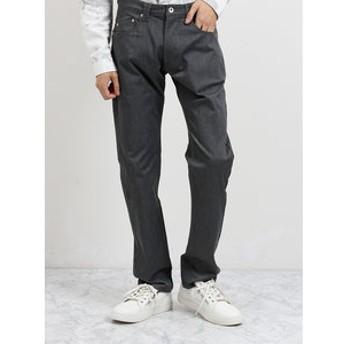 【semantic design:パンツ】ツイルストレッチ レギュラーフィット5ポケットパンツ
