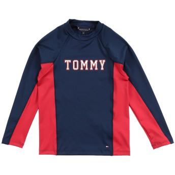 《期間限定 セール開催中》TOMMY HILFIGER ボーイズ 9-16 歳 T シャツ ダークブルー 10 ポリエステル 85% / ポリウレタン 15%