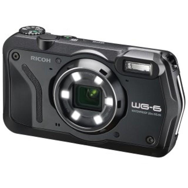 デジタルカメラ  WG-6 ブラック