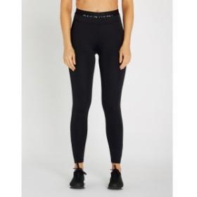 カルバンクライン CALVIN KLEIN レディース スパッツ・レギンス インナー・下着 Logo-print 7/8 stretch-jersey leggings Ck black