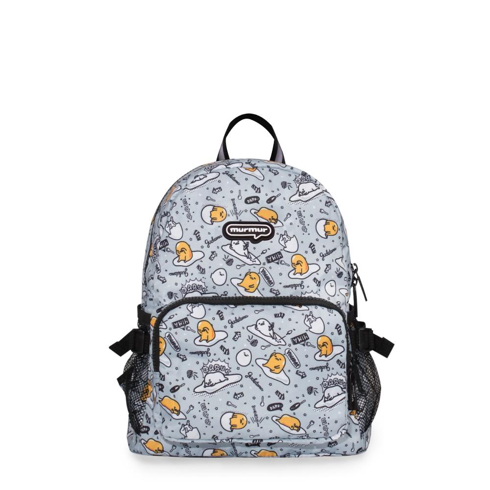 【murmur官方】 旅行收納兒童用後背包【蛋黃哥 灰】旅行收納 收納後背包 體積小大容量