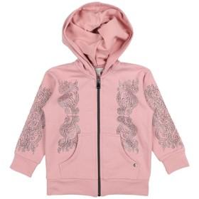 《期間限定セール開催中!》MICROBE by MISS GRANT ガールズ 3-8 歳 スウェットシャツ ピンク 3 コットン 95% / ポリウレタン 5%
