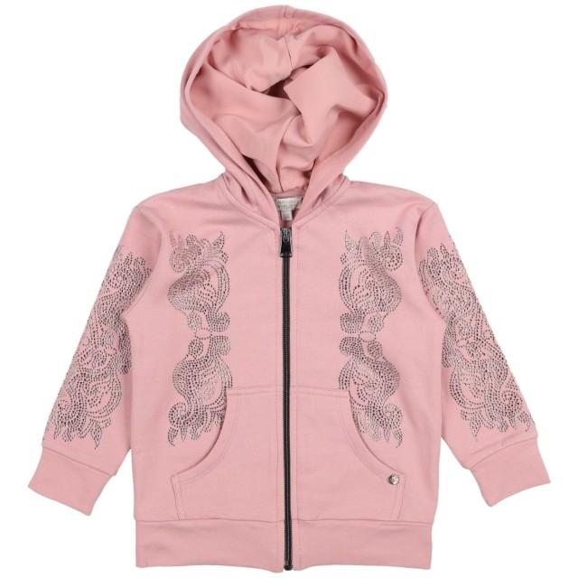 《セール開催中》MICROBE by MISS GRANT ガールズ 3-8 歳 スウェットシャツ ピンク 3 コットン 95% / ポリウレタン 5%