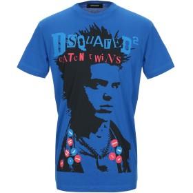 《セール開催中》DSQUARED2 メンズ T シャツ ブルー XS コットン 100%