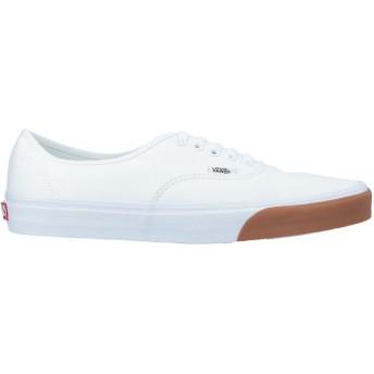 《期間限定セール開催中!》VANS メンズ スニーカー&テニスシューズ(ローカット) ホワイト 10 紡績繊維