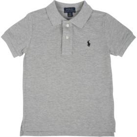 《期間限定 セール開催中》RALPH LAUREN ボーイズ 3-8 歳 ポロシャツ ライトグレー 8 コットン 100%