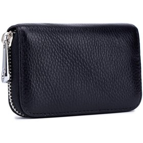 St.Mandy カードケース 本革製 クレジットカード入れ ケース RFID スキミング防止 財布 小銭入れ 男女兼用 大容量