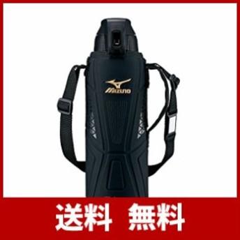 象印 (ZOJIRUSHI) ミズノ水筒 直飲み スポーツタイプ ステンレスクールボトル 1.5L ブラック SD-FX15-BA