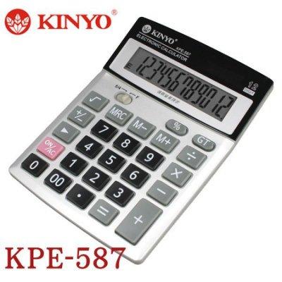 【MR3C】含稅附發票 KINYO金葉 KPE-587 桌上型計算機