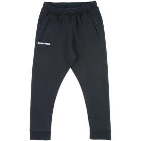 《期間限定 セール開催中》DSQUARED2 ボーイズ 9-16 歳 パンツ ブラック 10 コットン 100%