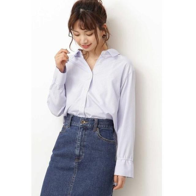 PROPORTION BODY DRESSING / プロポーションボディドレッシング  ◆ストライプシャツ