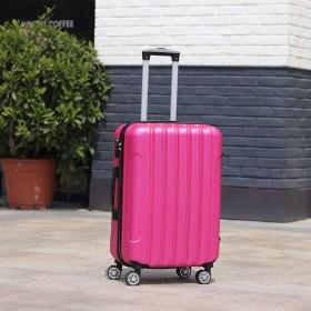 スーツケース 超軽量,キャリーケース ファスナータイプ パスワード 旅行 トランク スピナー 静音 輪 伸縮ハンドル付き ハード トロリー キャリーバッグ-22Inch-H