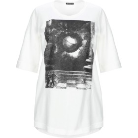 《セール開催中》ANN DEMEULEMEESTER レディース T シャツ ホワイト 36 コットン 100%