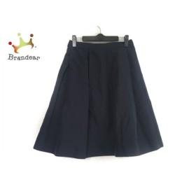 ウィムガゼット whim gazette スカート サイズ36 S レディース ダークネイビー 新着 20190821