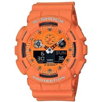 【並行輸入品】海外CASIO 海外カシオ 腕時計 GA-100RS-4A メンズ G-SHOCK Gショック (国内品番はGA-100RS-4AJF)