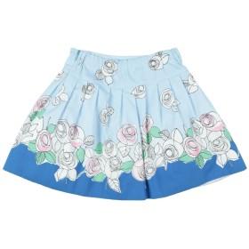 《9/20まで! 限定セール開催中》SIMONETTA MINI ガールズ 3-8 歳 スカート スカイブルー 6 コットン 100%