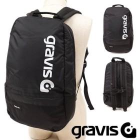 グラビス gravis トランスポート TRANSPORT メンズ レディース バックパック リュックサック デイパック 通勤 通学 かばん BLACK ブラック系 09801 FW19