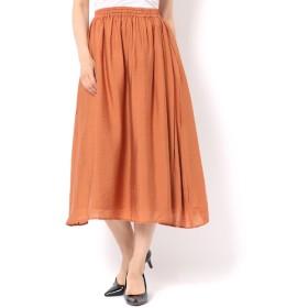 【テチチ/Te chichi】 ヴィンテージサテンスカート