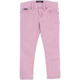 《期間限定セール開催中!》RALPH LAUREN ガールズ 3-8 歳 ジーンズ ピンク 3 コットン 91% / エラステレル-p 7% / ポリウレタン 2% Tompkins Skinny Fit Jean