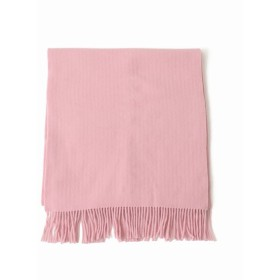 VERMEIL par iena 《予約》ASAUCE MELER EXファインラムスポンディッシュウールストール(別注)◆ ピンク フリー