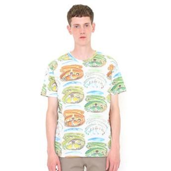 【グラニフ:トップス】Tシャツ/ちいさいおうちシーズン(ヴァージニアリーバートンショートスリーブティーC)