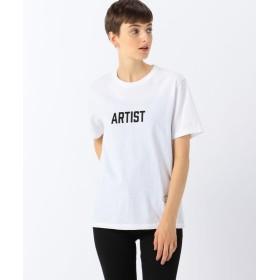 トゥモローランド TANGTANG STATUS プリントTシャツ レディース 12ホワイト系 M 【TOMORROWLAND】