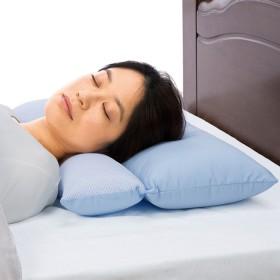 ベルーナインテリア 二段式 けい椎サポート枕 1 約35×50cm