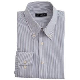 【メンズ】 出張や洗い替えにも便利!形態安定Yシャツ(長袖)(S-5L) - セシール ■カラー:ストライプB(ボタンダウン衿) ■サイズ:L,S,LL,3L,4L,5L,M