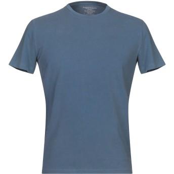 《9/20まで! 限定セール開催中》MAJESTIC FILATURES メンズ T シャツ ブルーグレー M コットン 94% / ポリウレタン 6%
