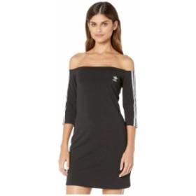 アディダス レディース ワンピース トップス Shoulder Dress Black