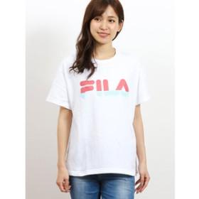 【on the day:トップス】フィラ/FILA コットン クルーネック半袖Tシャツ